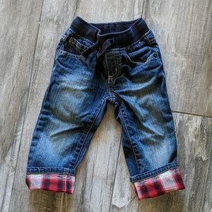Gymboree Elastic Denim Jeans